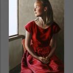 Margaret, peinture sur toile