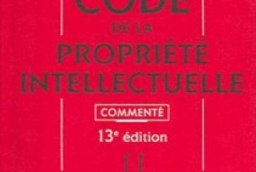 CODE DE LA PROPRIETE INTELLECTUELLE