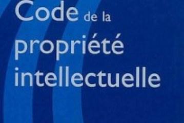 CODE DE LA PROPRIETE INTELLECTUELLE 2013