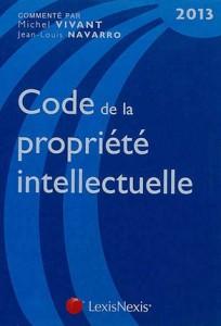 Code de la propriete intellectuelle 2013 crimexpertise - Office de la propriete intellectuelle ...