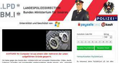 Landespolizeidirection-Virus-Ransomware