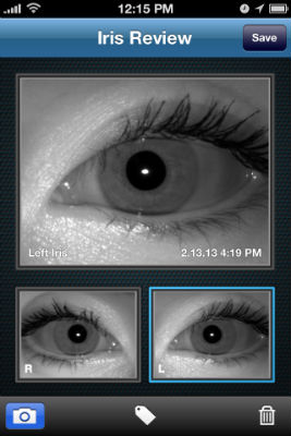 Screenshot Capture Iris