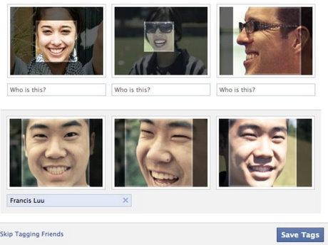 La fonction Tag permet d'identifier les individus présents sur les photos téléchargées sur le site de Facebook