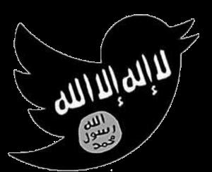 Logo Twitter utilisé par l'EI