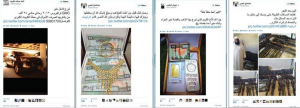 Tweets exposant des donations à DAESH
