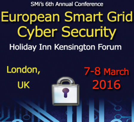 European Smart grid Cybersecurity Conference, Londres 7-8 mars 2016