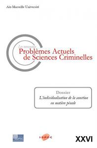 Livre ISPEC _Les nouveaux problèmes actuels de sciences criminelles
