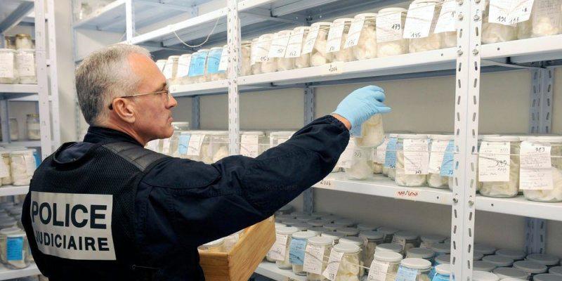 Les prélèvements d'odeurs sont stockés dans des odorothèques, pendant plusieurs années.