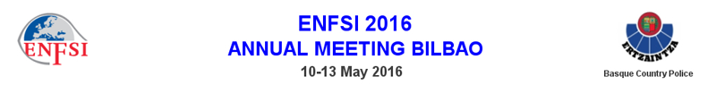 ENFSI 2016 bilbao